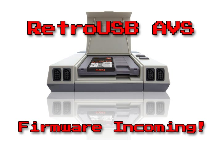 RetroUSB AVS Firmware Update