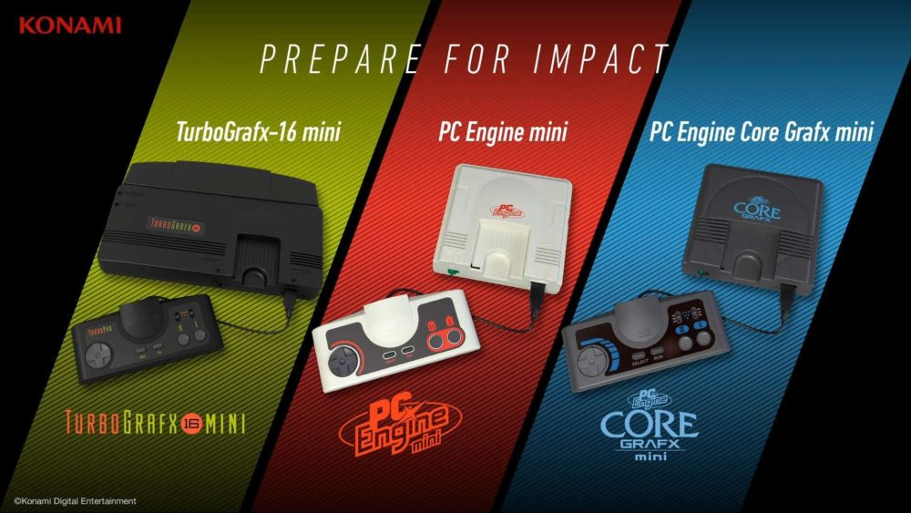 Konami to Release TurboGrafx-16 and PC Engine Minis