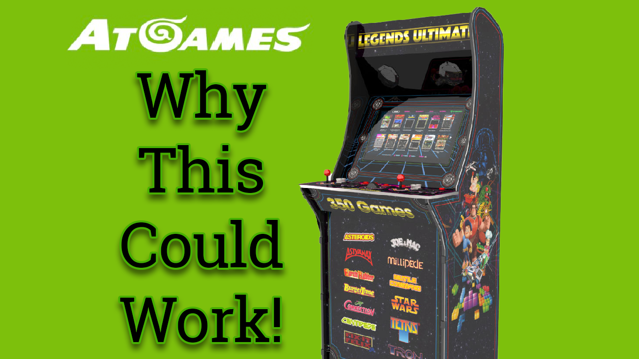 Look out AtGames New Arcade Cabinet Might be Good!