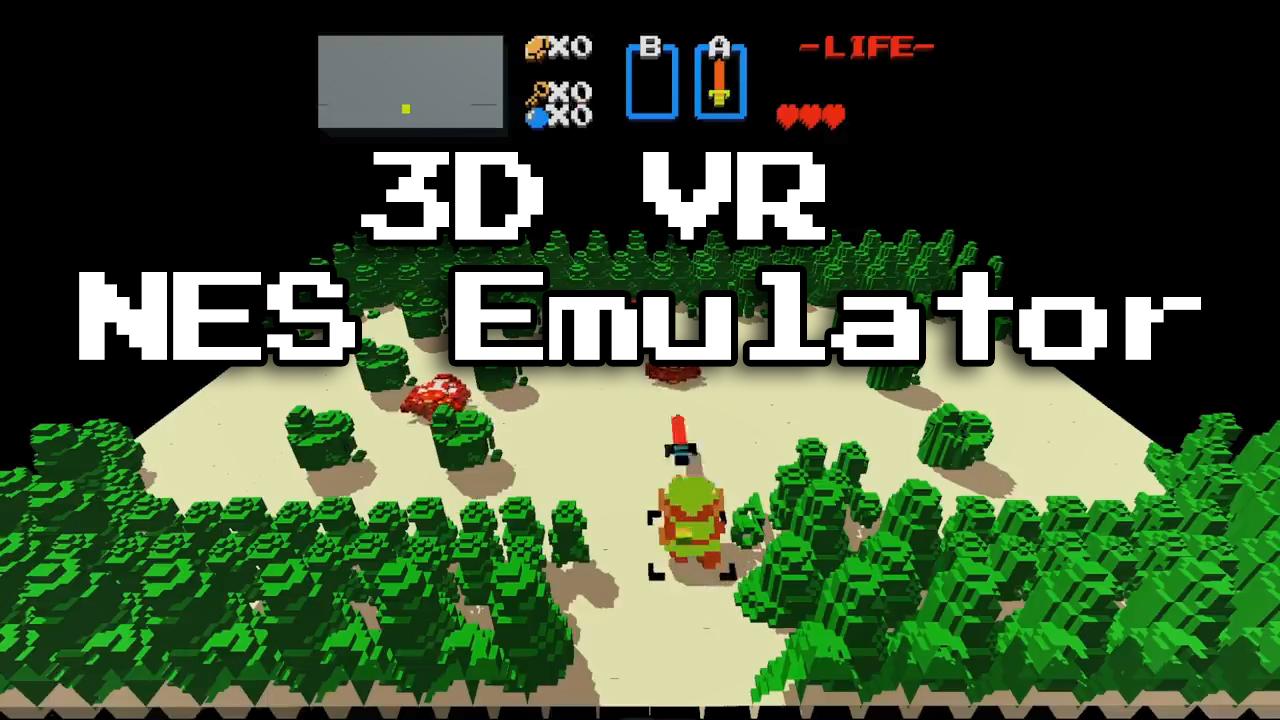 VR NES Emulator 3dSenVR