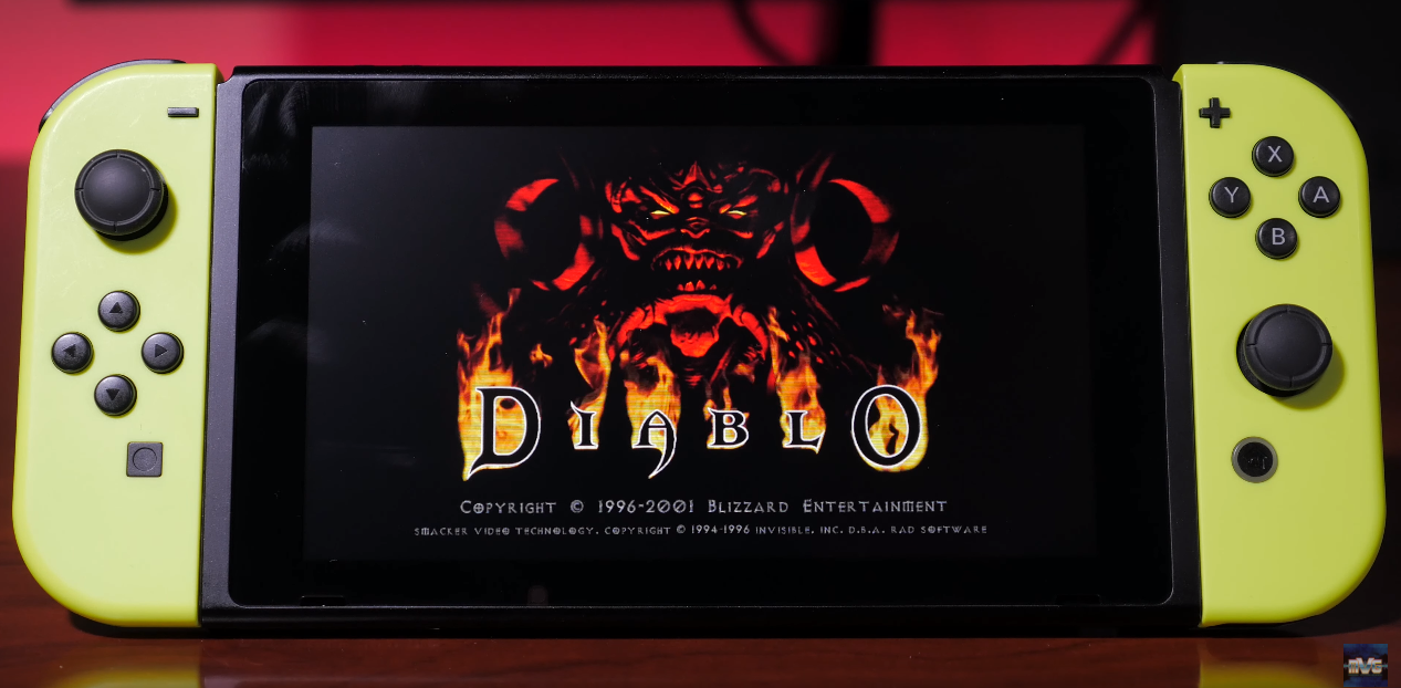 DevilutionX (Diablo) Ported to the Nintendo Switch Courtesy of Modern Vintage Gamer