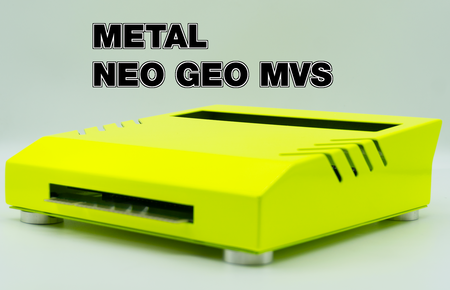 Metal Neo Geo MVS Shell Available for Pre-Order