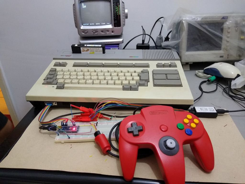 N64 Controller Project for MSX