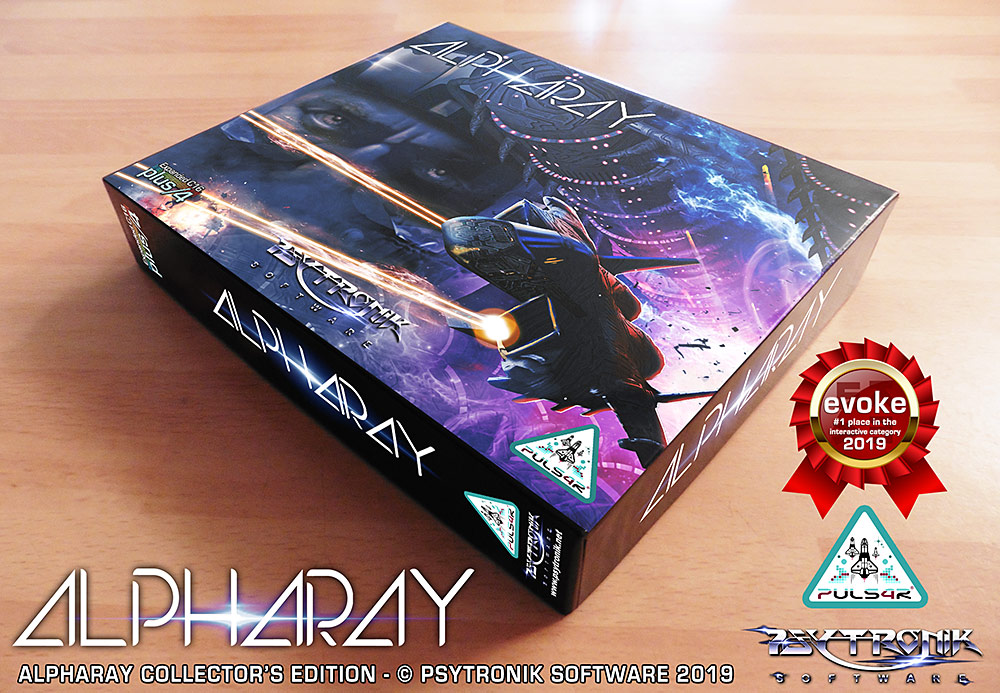 Alpharay, New Commodore C16 Plus/4 Game