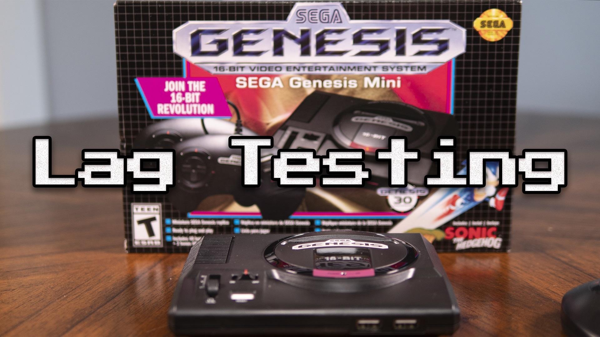 Genesis Mini Lag Testing
