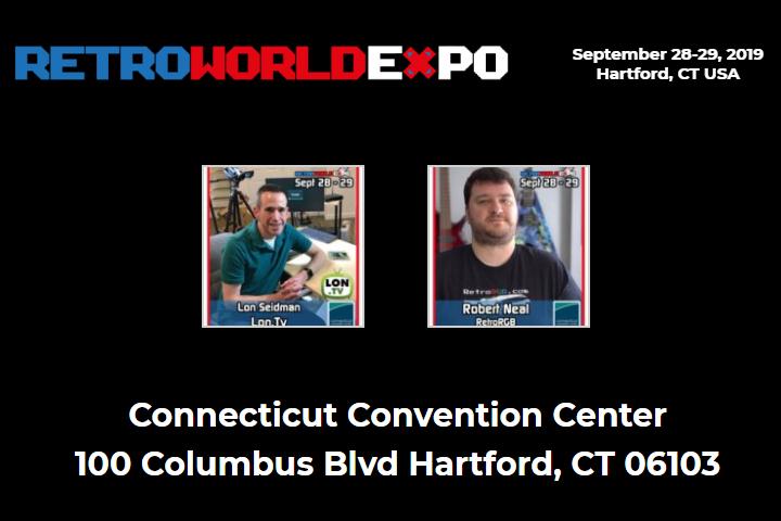 RetroRGB Panel at Retro World Expo in Hartford, CT