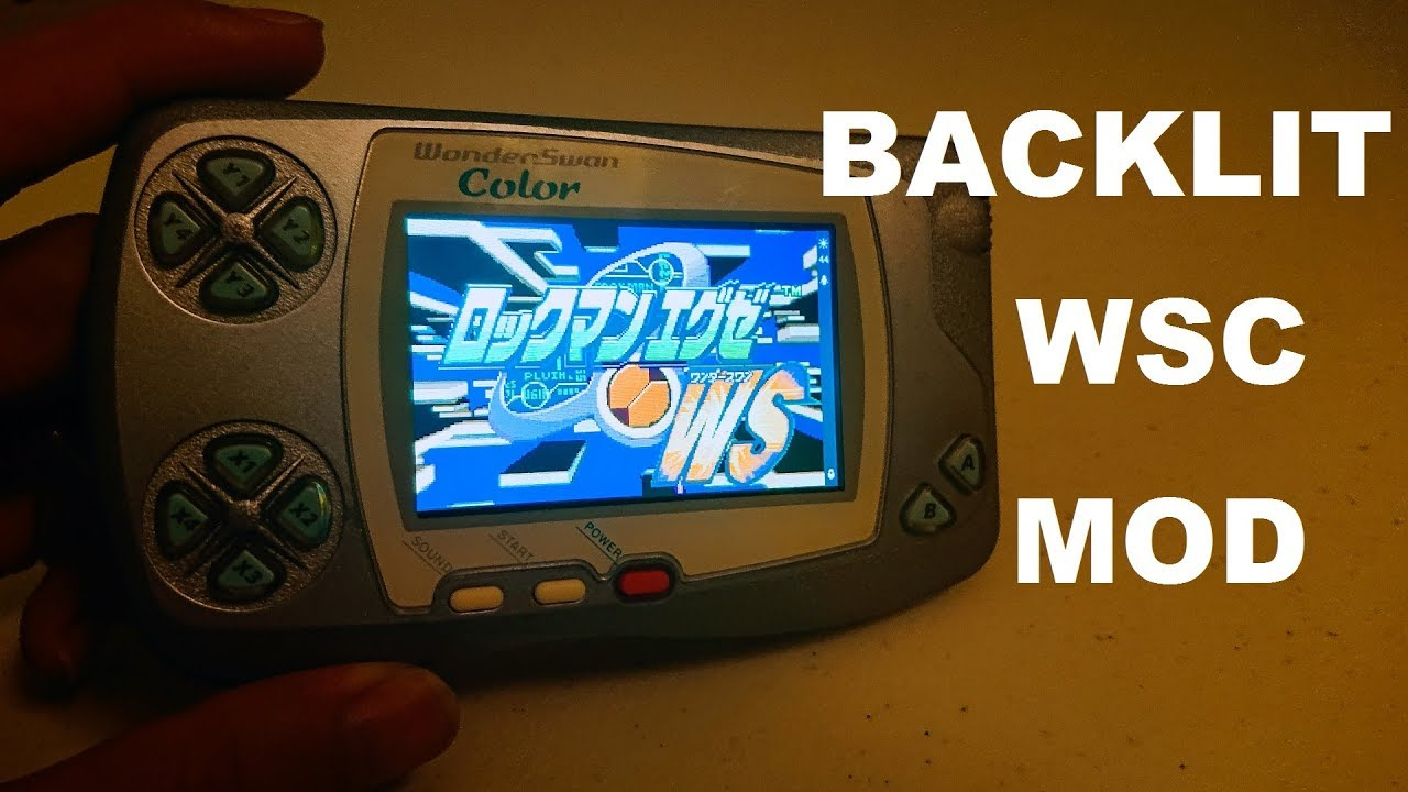 Wonderswan Backlight Mod Installation and Review