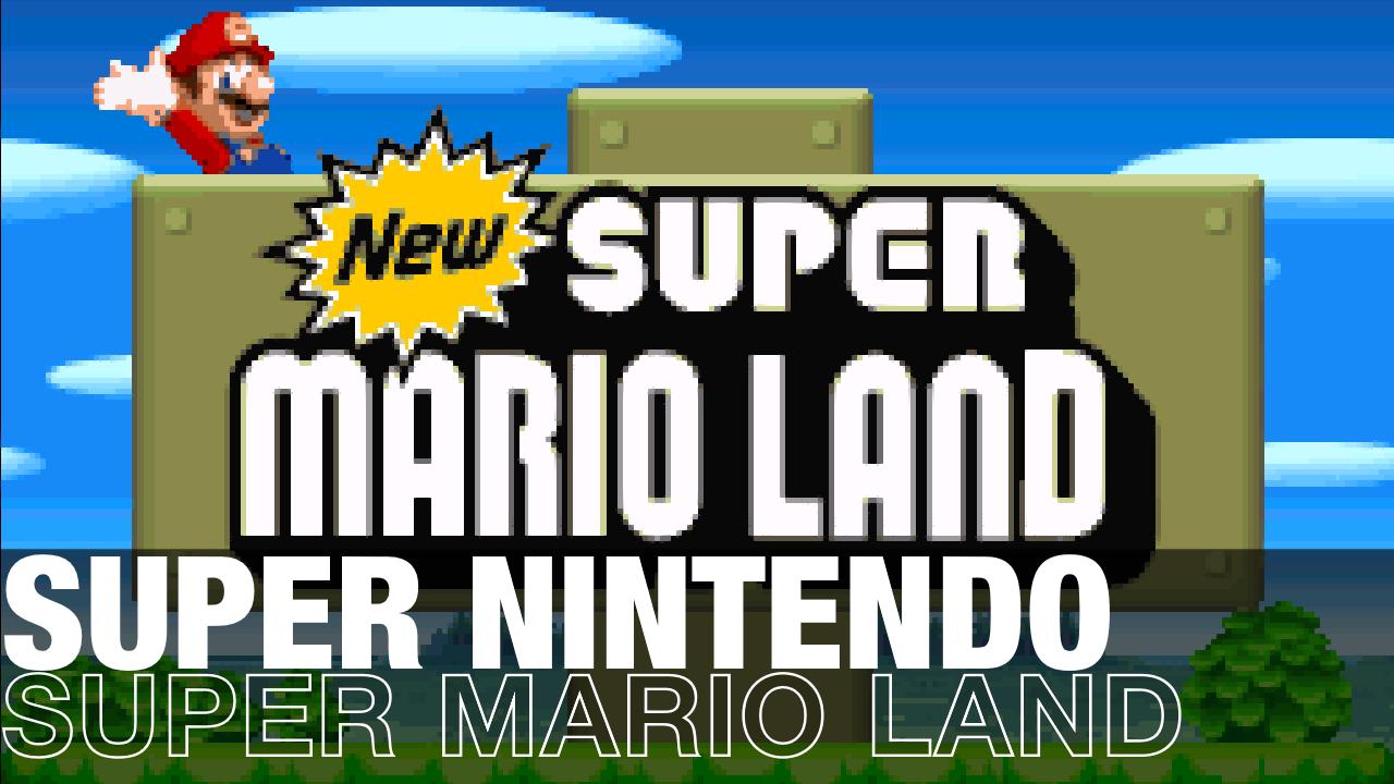 New Super Mario Land v1.1 Released