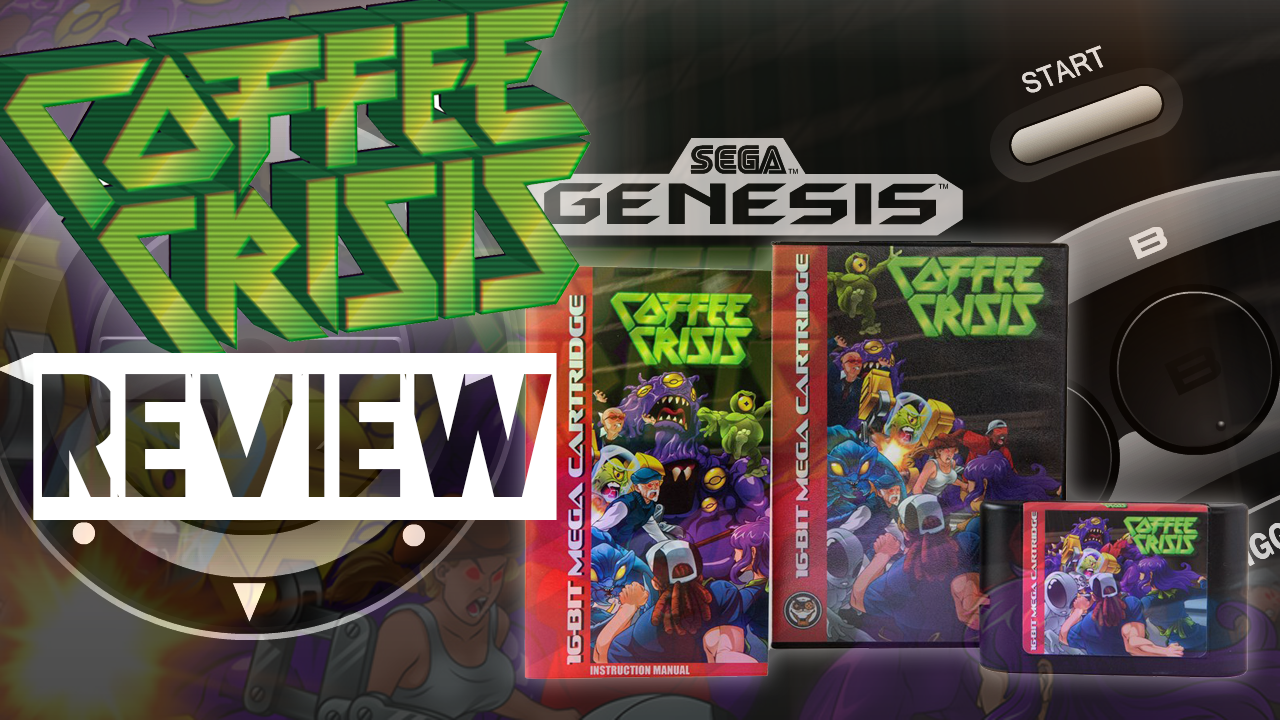 Coffee Crisis (Sega Genesis / Mega Drive) Retro Review!
