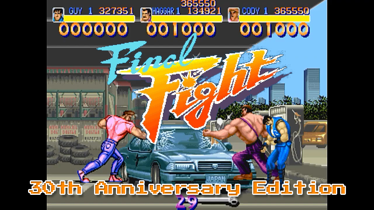 3-Player Final Fight Released