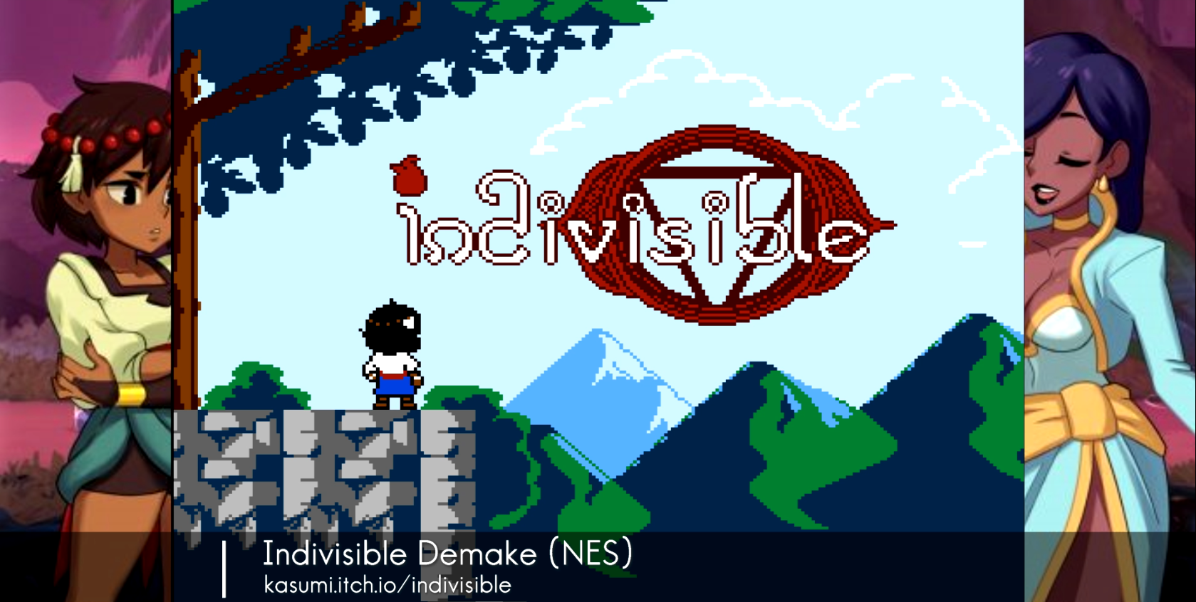 Indivisible Demake available for NES!