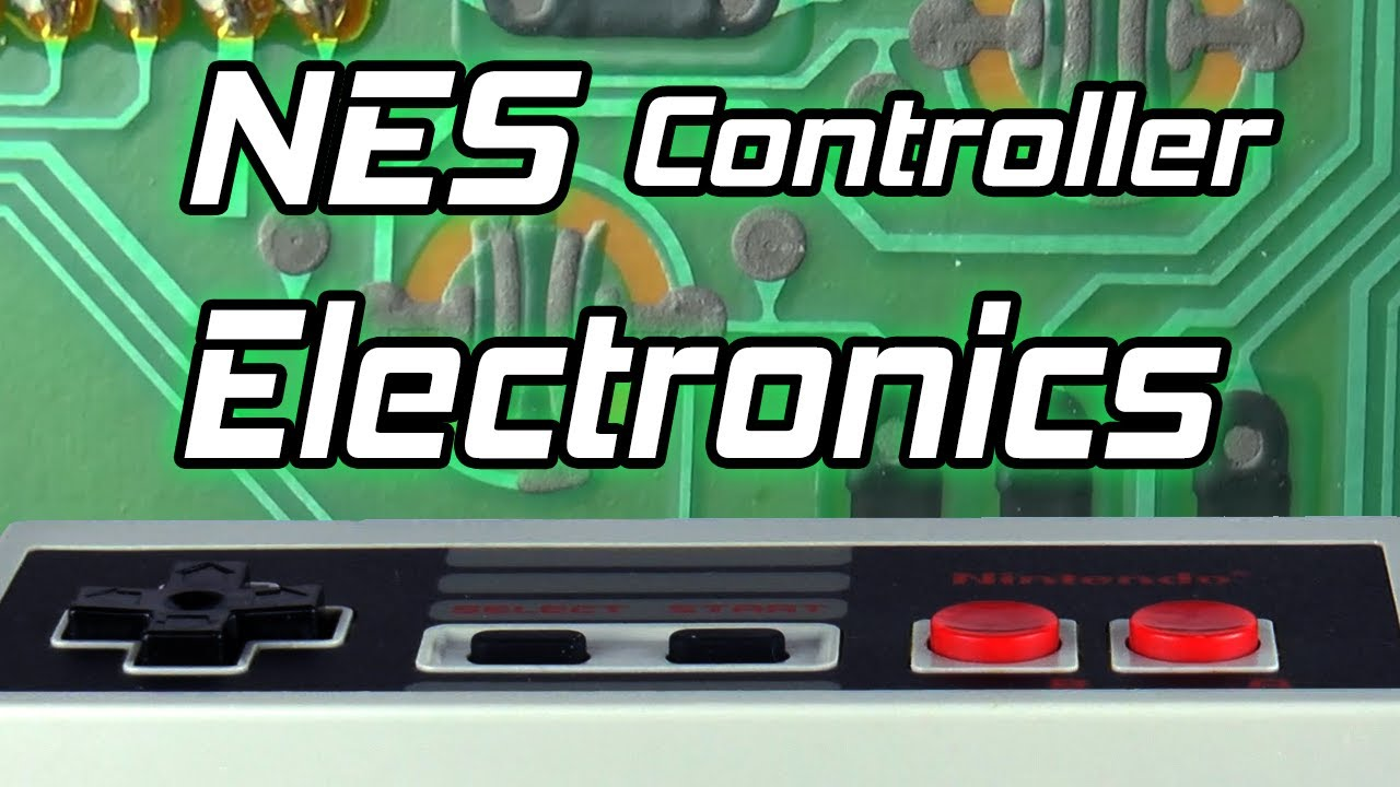 How A NES Controller Works