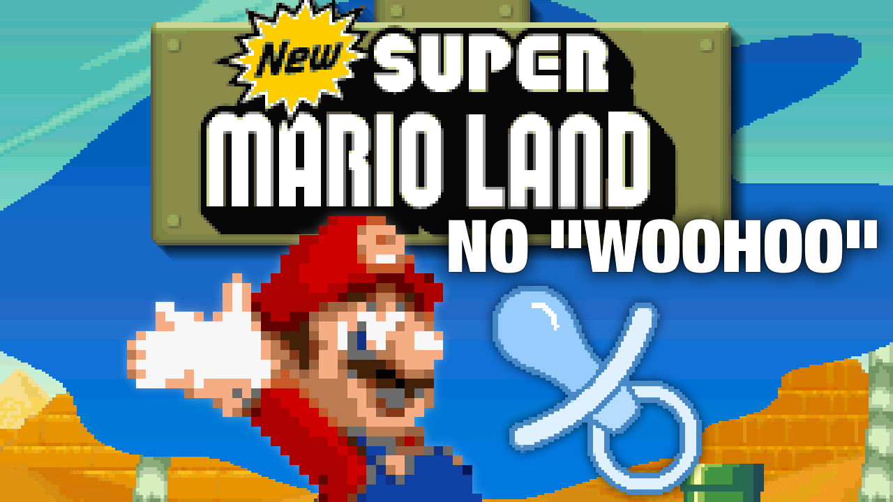 "New Super Mario Land (SNES) ""No Woohoo Sound Effect"" Hack"