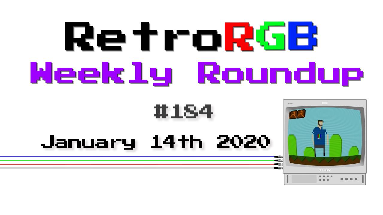 Weekly Roundup #184