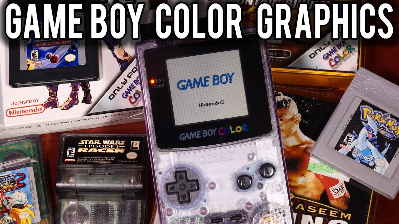 How Game Boy Graphics Work