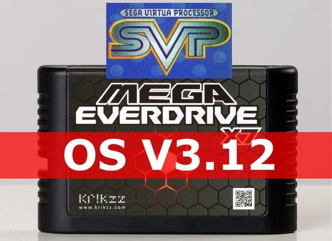 Virtua Racing Support on Mega Everdrive x7