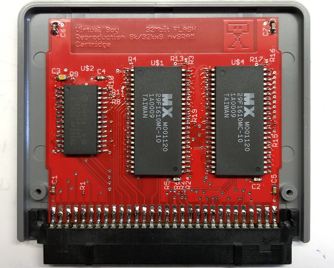 Single-Flash 32Mbit Virtual Boy Cart