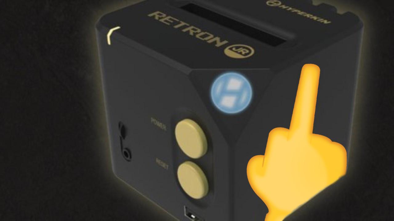Hyperkin Raises Middle Finger At Retro Gamers