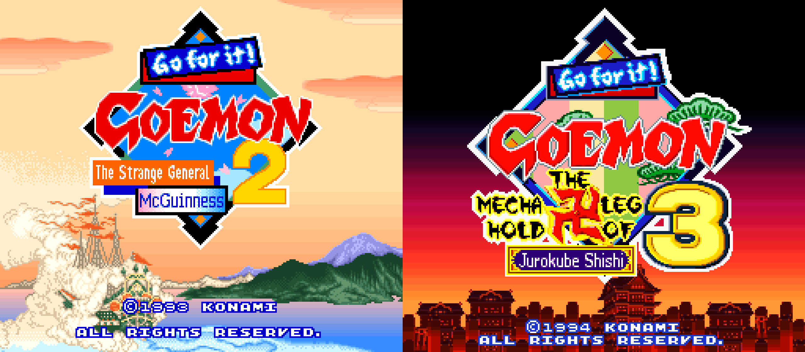 Goemon 2 & 3 English Translations Released for Super Nintendo/Super Famicom