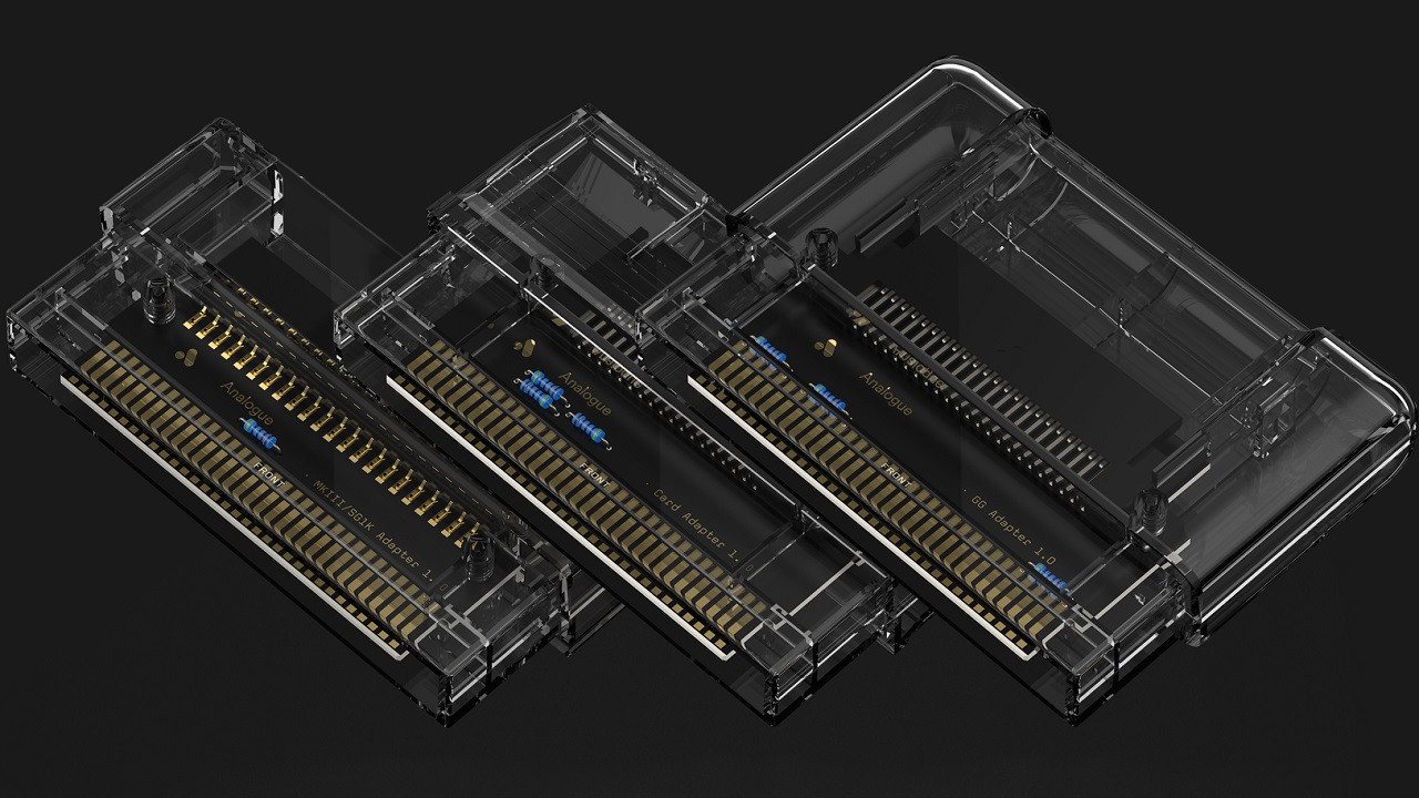 Analogue Mega Sg Cartridge Adapters Now Available