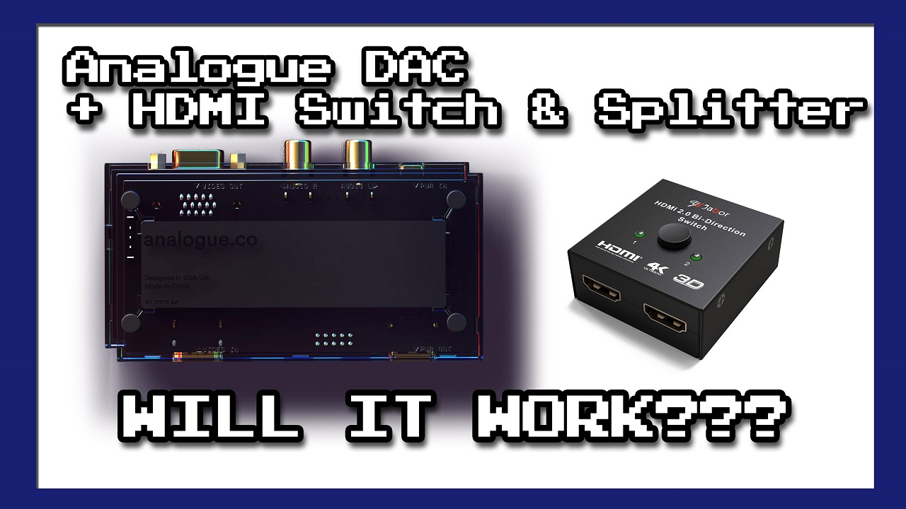 Analogue DAC Switch and Splitter Testing