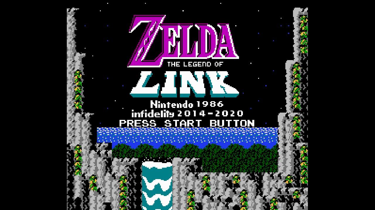 Zelda: The Legend of Link Updated