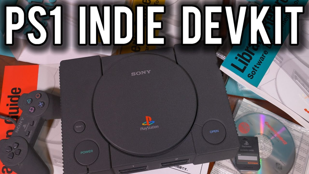 PS1 Net Yaroze Dev Kit & Unreleased Game