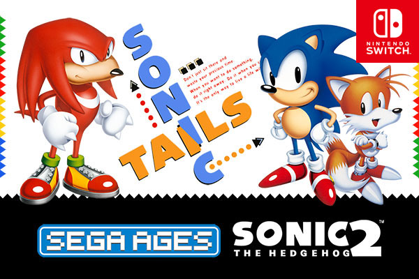 Sega Ages – Sonic 2 coming to Switch