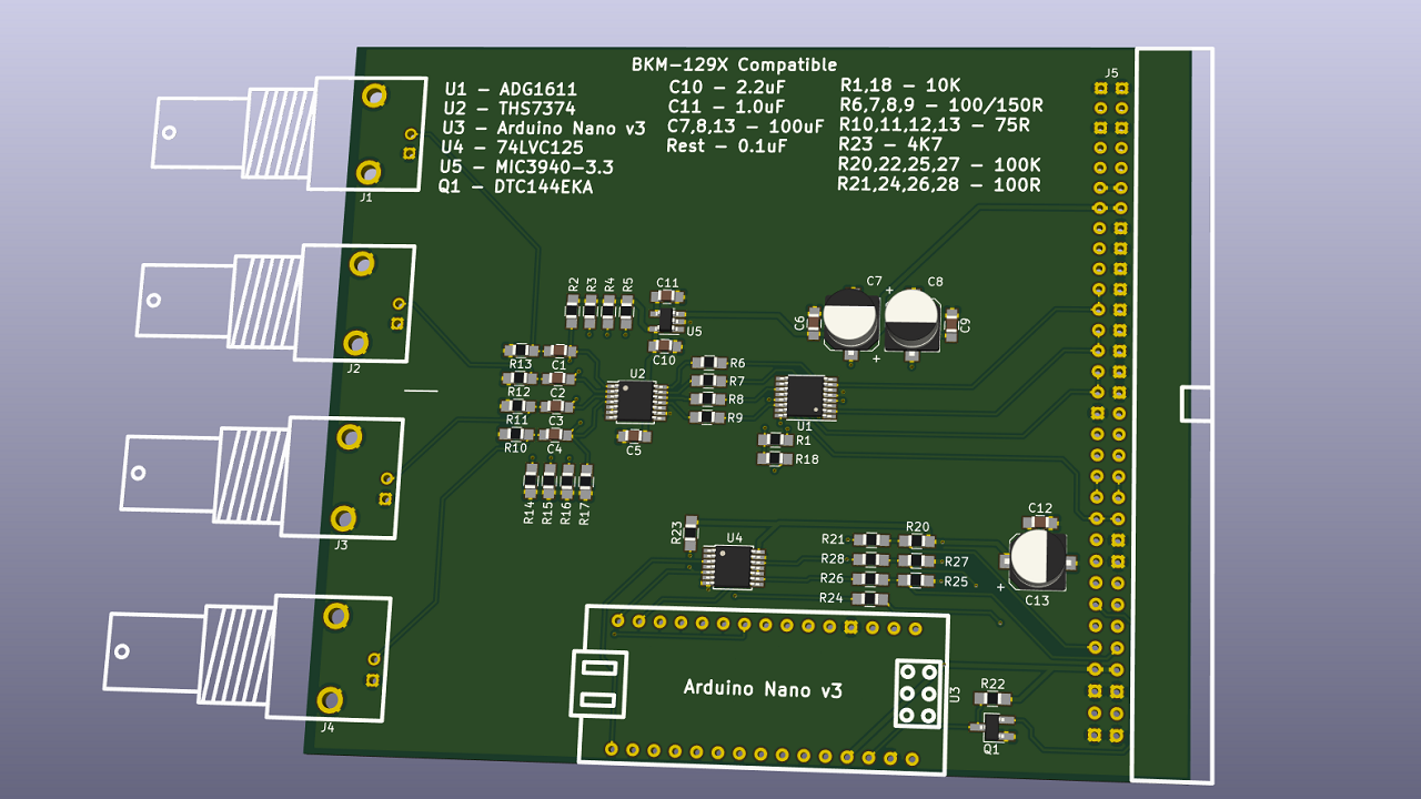 Reverse Engineering A Sony BVM Input Card